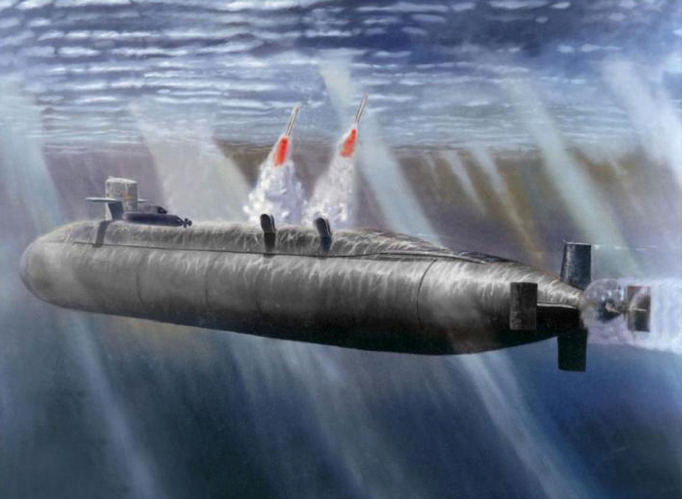 слухач на подводной лодке