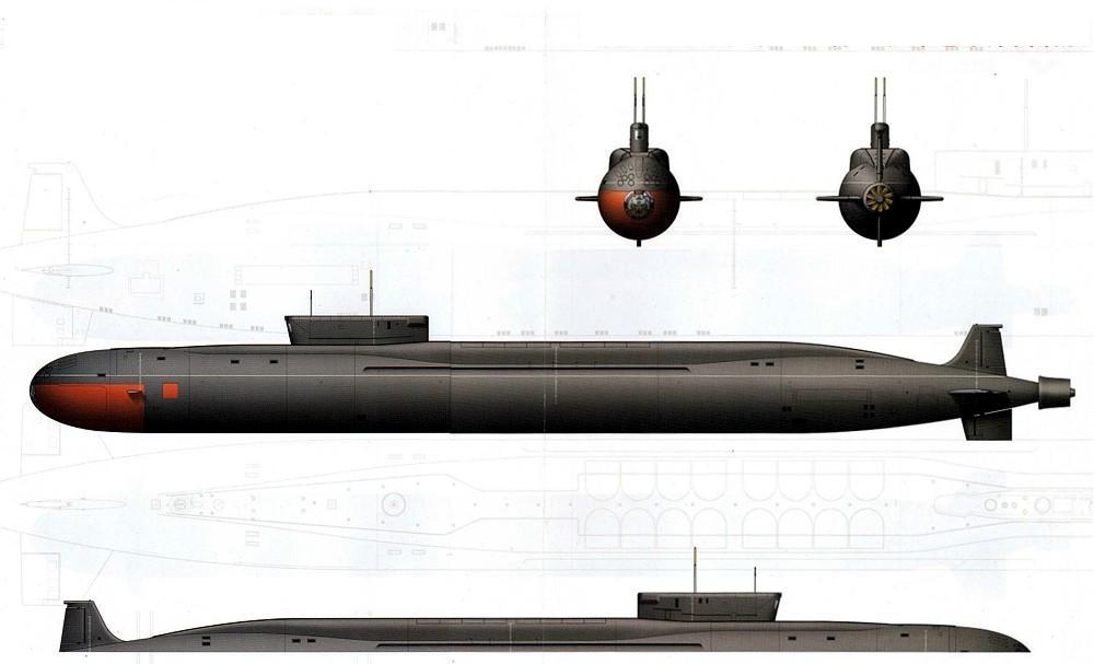 подводная лодка проекты википедия