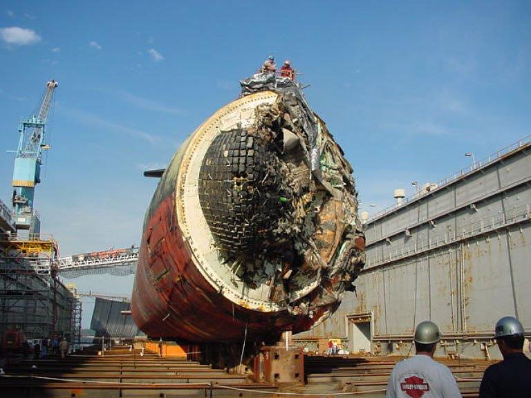 как американцы подняли нашу подводную лодку