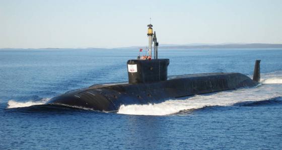 подводной лодкой проекта 955 александр невский