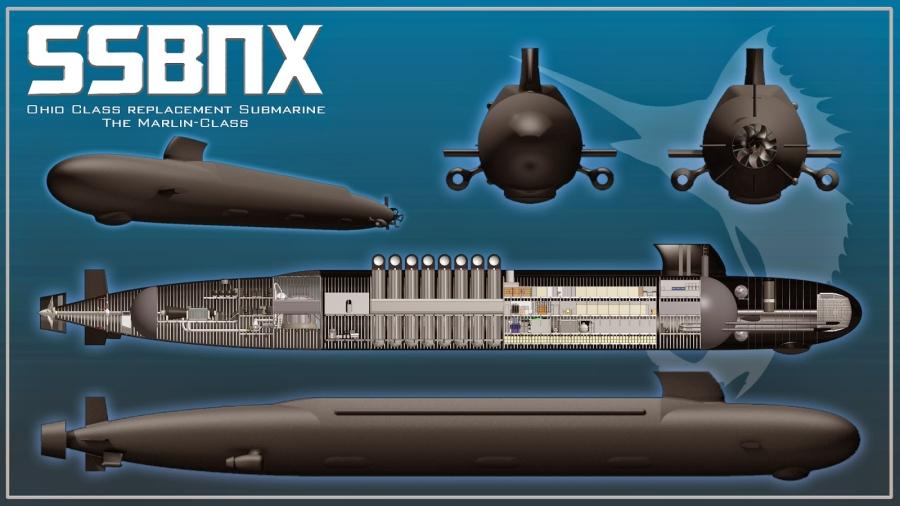 новая атомная подводная лодка пятого поколения