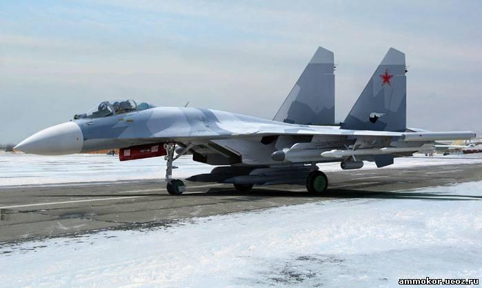 Су-27 серийной компоновки,