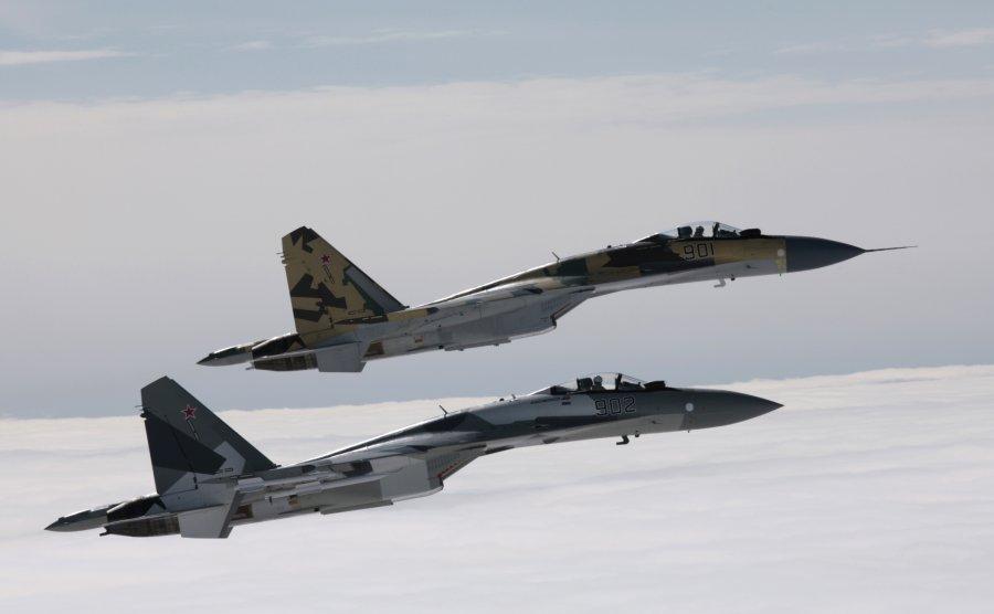 Су-35 и американского F-35