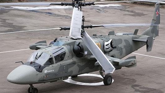 Военные технологии - Ка-52 Аллигатор