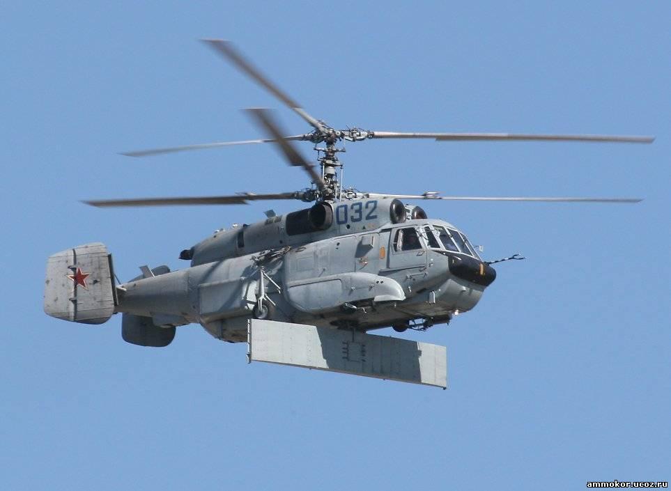 Военные технологии - Ка-31 Вертолет радиолокационного дозора